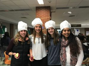 empty bowls volunteers from ETHS